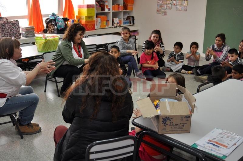 Chicos del jard n 26 realizaron actividades con los for Centro de salud ciudad jardin
